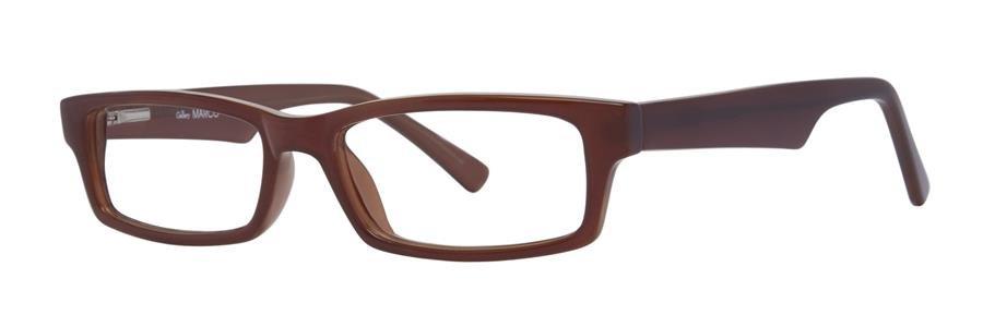 Gallery MARCO Brown Eyeglasses Size49-17-140.00