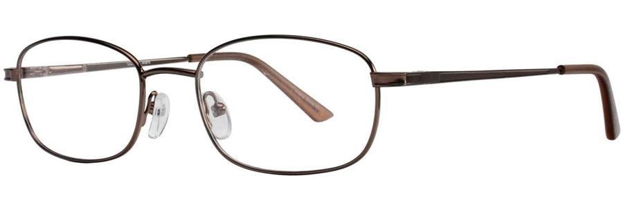 Gallery MARK Brown Eyeglasses Size56-18-145.00