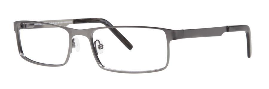 Jhane Barnes MAXIMUM Gunmetal Eyeglasses Size56-17-145.00