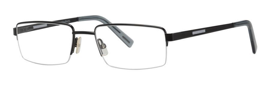 Jhane Barnes MEASURE Black Eyeglasses Size51-18-135.00