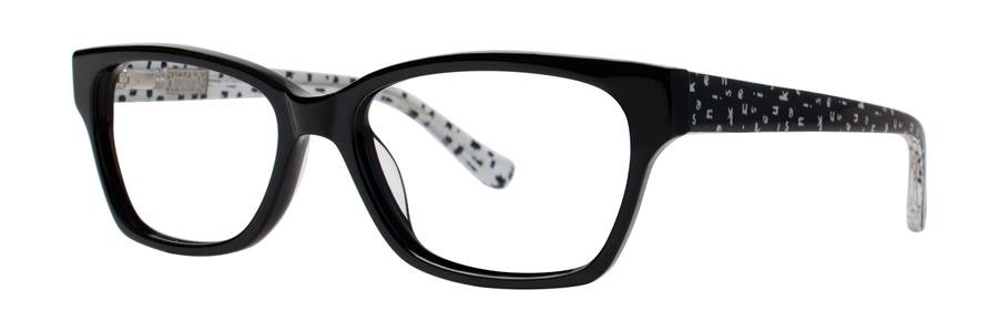 kensie MIDTOWN Black Eyeglasses Size52-16-135.00