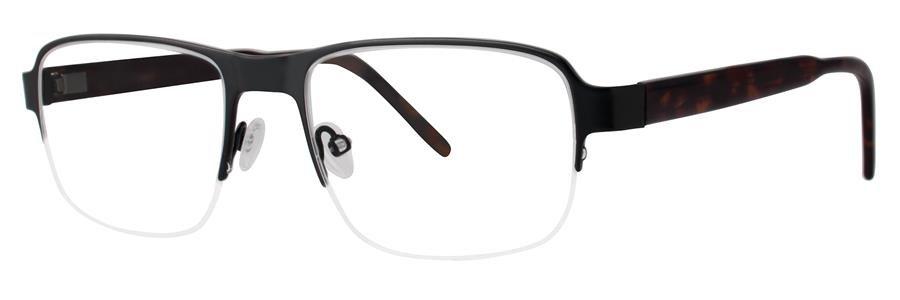 Jhane Barnes MOLECULAR Black Eyeglasses Size54-18-145.00