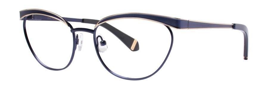Zac Posen MOYRA Navy Eyeglasses Size53-16-135.00