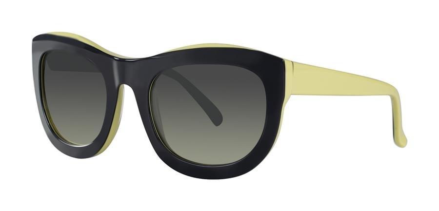 Vera Wang NARA Charcoal/Lemon Sunglasses Size00-22-135.00