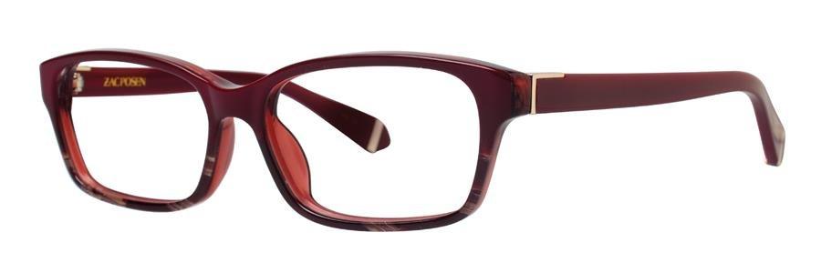 Zac Posen NATALYA Burgundy Eyeglasses Size53-15-135.00
