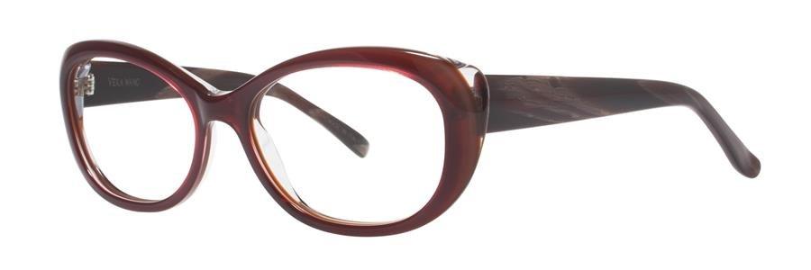 Vera Wang NATHALIE Cabernet Eyeglasses Size56-16-135.00