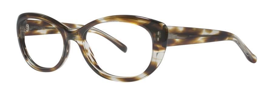 Vera Wang NATHALIE Khaki Tortoise Eyeglasses Size56-16-135.00