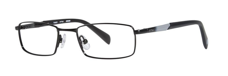 Timex OVERCOME Black Eyeglasses Size47-17-130.00
