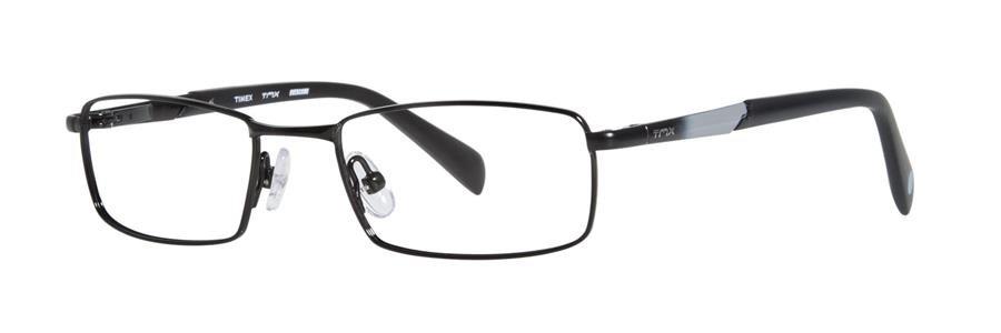 Timex OVERCOME Black Eyeglasses Size49-17-135.00