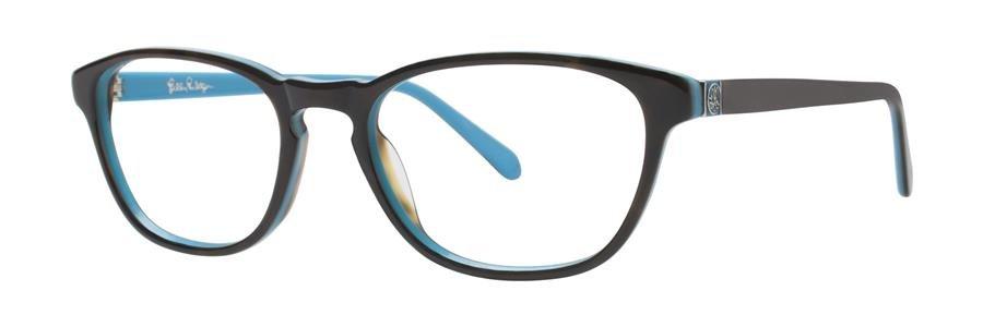 Lilly Pulitzer PALMER Aqua Tortoise Eyeglasses Size49-17-135.00