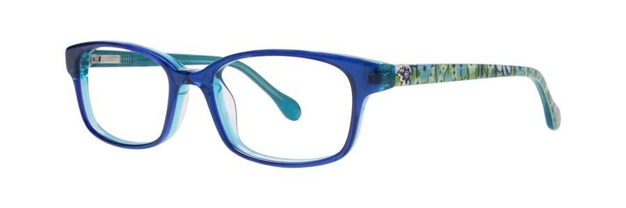 Lilly Pulitzer PARRIS Aqua Eyeglasses Size48-16-125.00