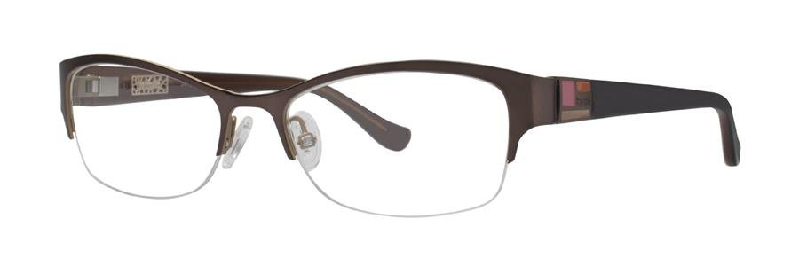 kensie PARTY Brown Eyeglasses Size51-17-130.00