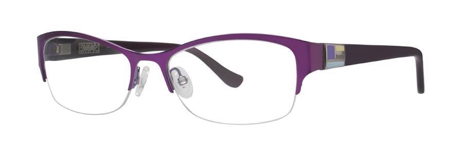 kensie PARTY Purple Eyeglasses Size53-17-135.00