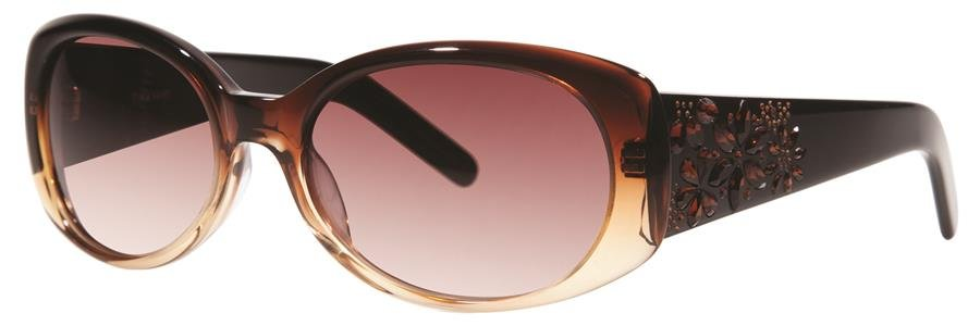 Vera Wang PERRINE Mink Sunglasses Size55-18-140.00