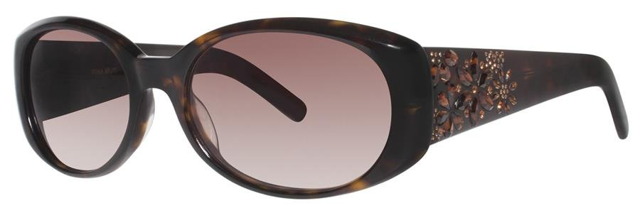 Vera Wang PERRINE Tortoise Sunglasses Size55-18-140.00