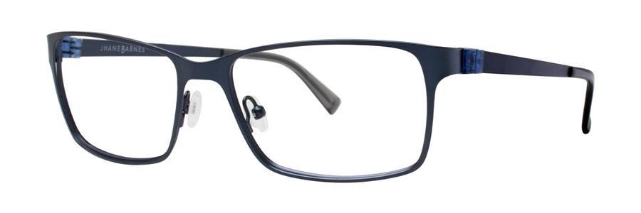 Jhane Barnes PHASE Navy Eyeglasses Size53-17-135.00