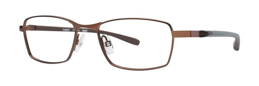 Timex POINT Brown Eyeglasses Size47-16-130.00