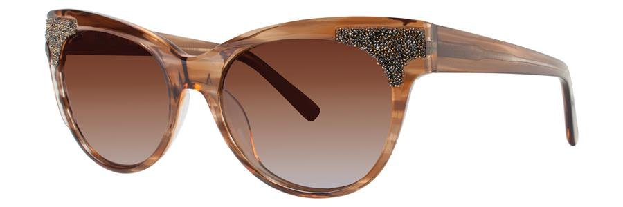 Vera Wang PRESTA Brown Sunglasses Size52-17-135.00