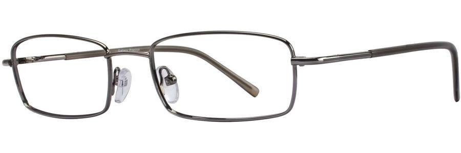 Gallery PRESTON Gunmetal Eyeglasses Size53-18-135.00