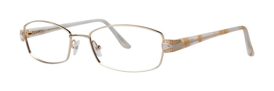 Dana Buchman PRIYA Gold Eyeglasses Size53-17-135.00