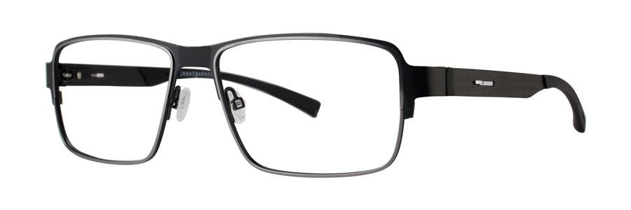 Jhane Barnes QUANTITATIVE Black Eyeglasses Size56-16-145.00