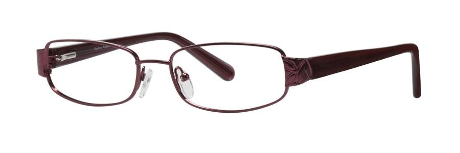 Destiny RANIA Burgundy Satin Eyeglasses Size52-18-135.00