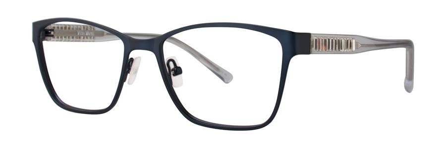 Vera Wang REENA Brushed Navy Eyeglasses Size52-16-135.00