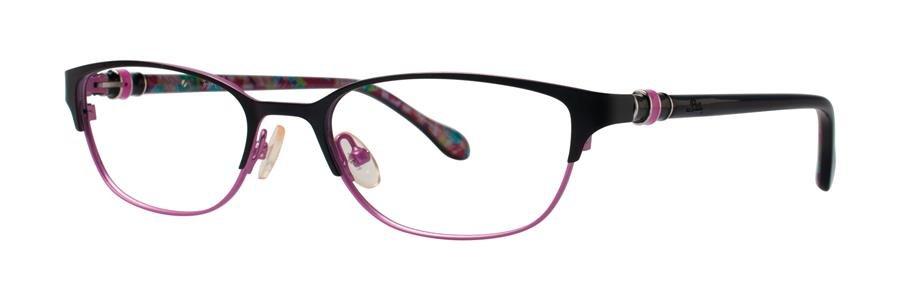Lilly Pulitzer REMMY Black Eyeglasses Size50-17-135.00