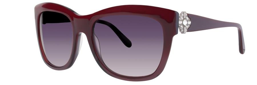 Vera Wang RIVAN Burgundy Sunglasses Size56-18-138.00