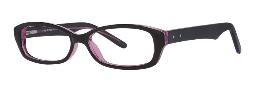 Gallery ROMY Black Eyeglasses Size50-16-138.00