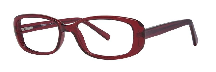 Destiny ROZ Burgundy Eyeglasses Size50-18-138.00