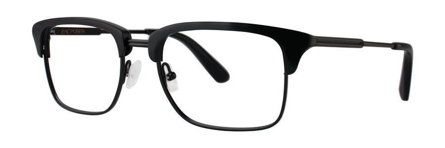 Zac Posen SACHA Black Eyeglasses Size55-18-145.00