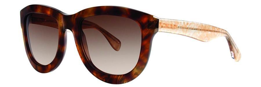 Vera Wang SAFIRA Umber Sunglasses Size56-20-135.00