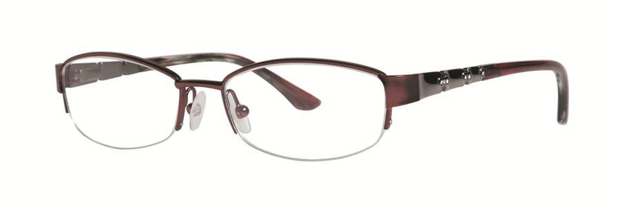 Dana Buchman SALOME Burgundy Eyeglasses Size52-16-135.00