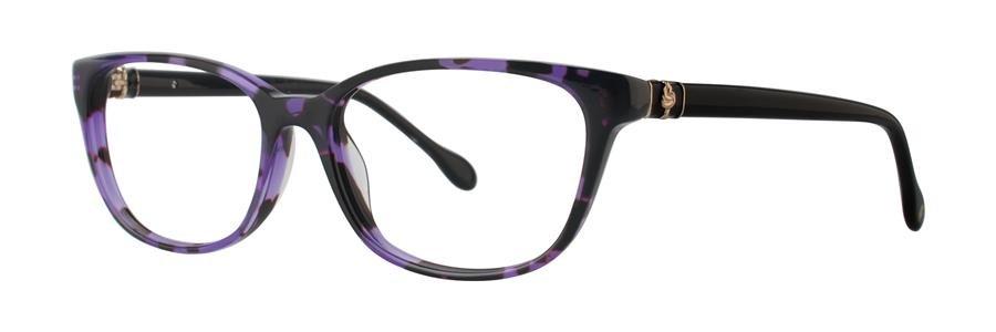 Lilly Pulitzer SANIBEL Grape Tortoise Eyeglasses Size51-16-135.00