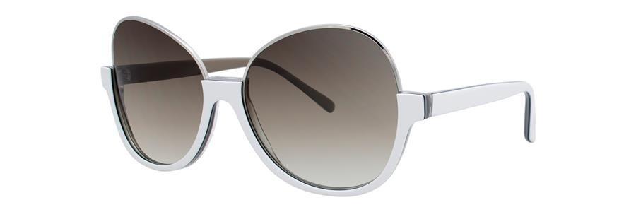 Vera Wang SAPPHO White Sunglasses Size56-15-135.00