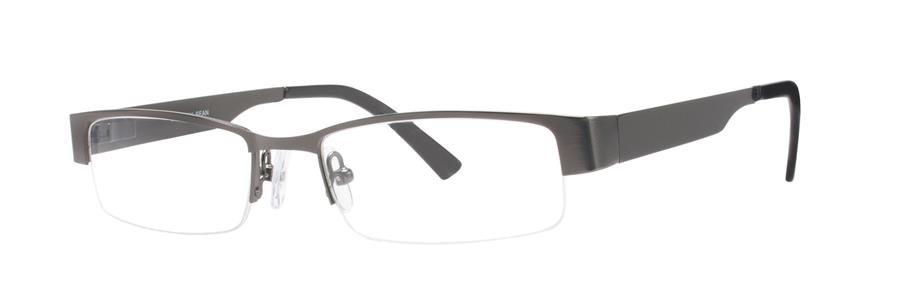 Gallery SEAN Gunmetal Eyeglasses Size50-17-133.00