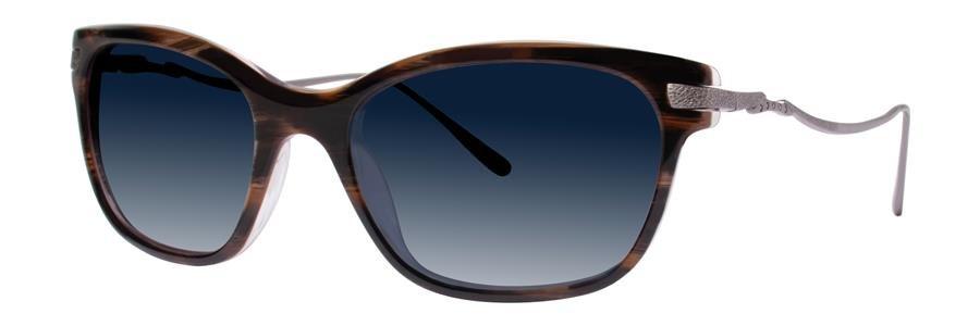 Vera Wang SEBILLE Horn Sunglasses Size52-18-135.00