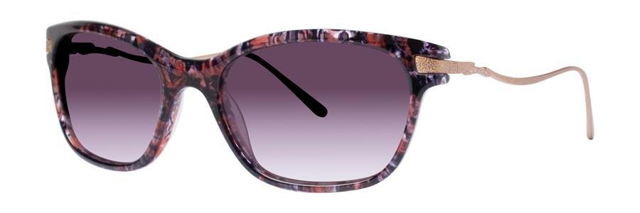 Vera Wang SEBILLE Red Tortoise Sunglasses Size52-18-135.00