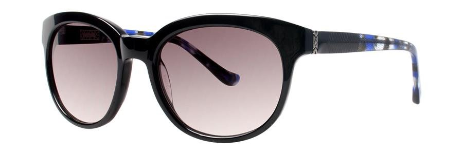 kensie SEE YOU LATER Black Sunglasses Size53-19-135.00