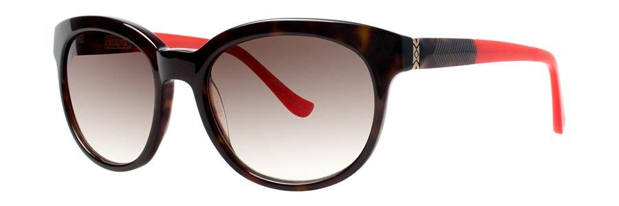 kensie SEE YOU LATER Tortoise Sunglasses Size53-19-135.00