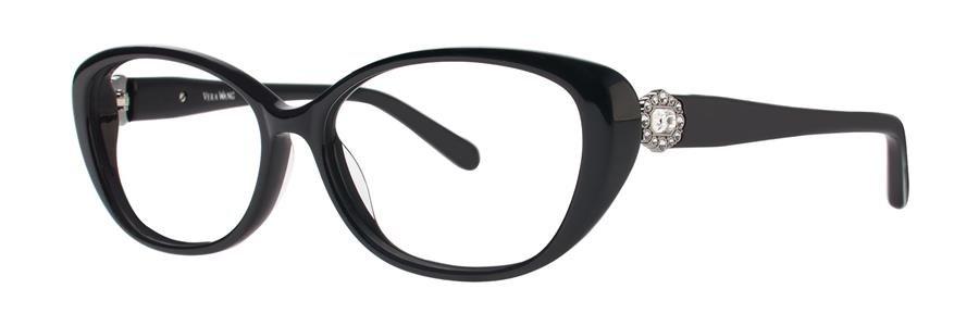 Vera Wang SESKA Black Eyeglasses Size52-14-133.00