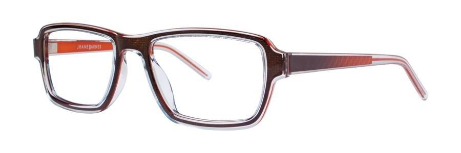 Jhane Barnes SET Brown Eyeglasses Size53-19-140.00