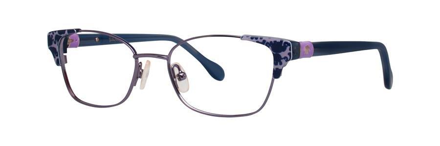 Lilly Pulitzer SHELDRAKE Lilac Eyeglasses Size47-15-130.00