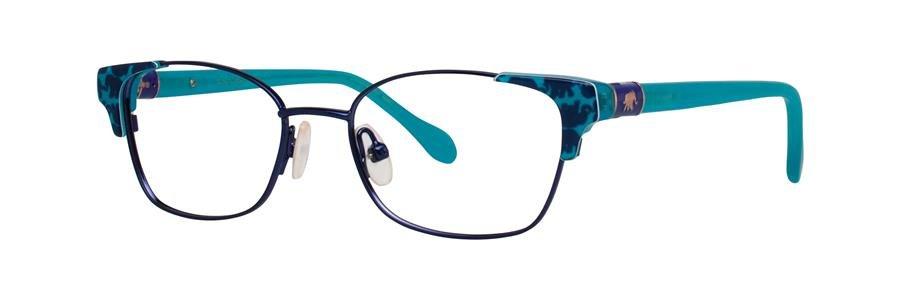 Lilly Pulitzer SHELDRAKE Navy Eyeglasses Size47-15-130.00