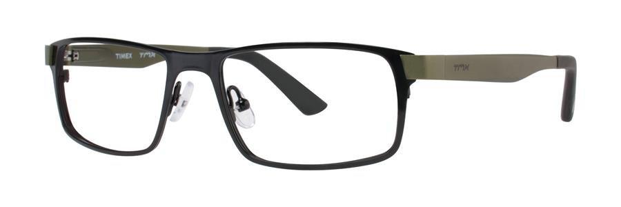 Timex SLICK Black Eyeglasses Size53-17-135.00