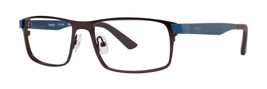 Timex SLICK Brown Eyeglasses Size53-17-135.00