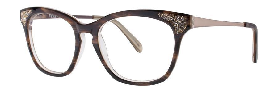 Vera Wang SORAYA Horn Eyeglasses Size52-17-135.00