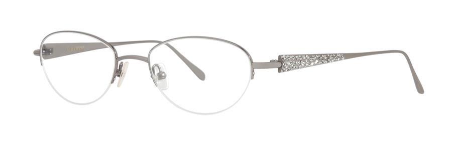 Vera Wang SPLENDID Gunmetal Eyeglasses Size48-18-133.00
