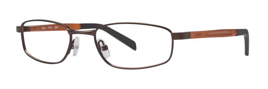 Timex SPOTTER Brown Eyeglasses Size50-17-135.00